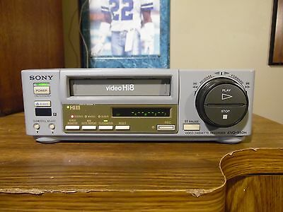 Sony EVO-550H Professional Hi8 Player Recorder Tested/Working