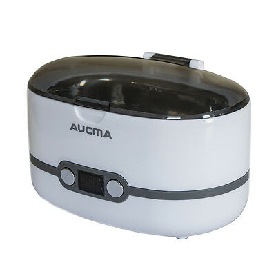 Aucma Ultrasonic Jewellery  glasses  Watch and Denture  Diamond  Cleaner 600ml
