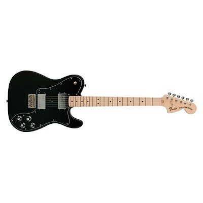 FENDER Classic Series '72 Deluxe Telecaster Electric Guitar Maple Black w/ Gig B