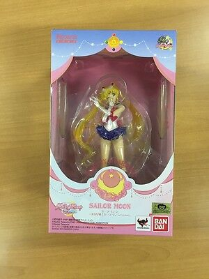 Anime Sailor Moon Crystal Usagi Tsukino Figuarts Zero PVC Figure Bandai Japan