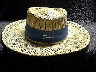 Ford Golf Straw Hat from the late 1970s to early 1980s