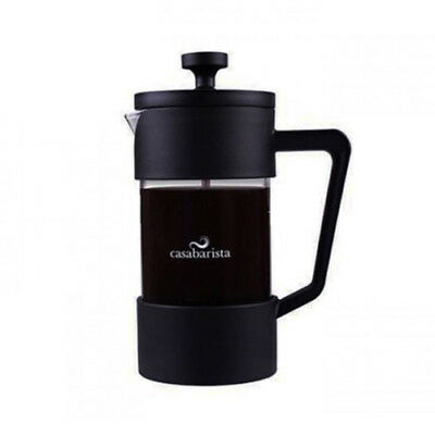 100% Genuine! Casa Barista By D.Line Oslo 3 Cup 350ml Coffee Plunger Black!
