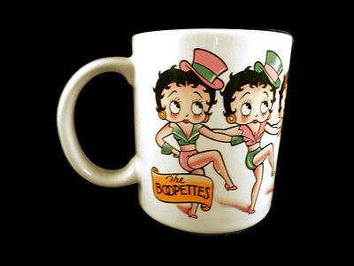 Vintage Betty Boop Coffee Mug TEA CUP The Boopettes Glass