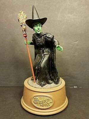 1996 Dave Grossman The Wizard of Oz Collection Wicked Witch Musical Box