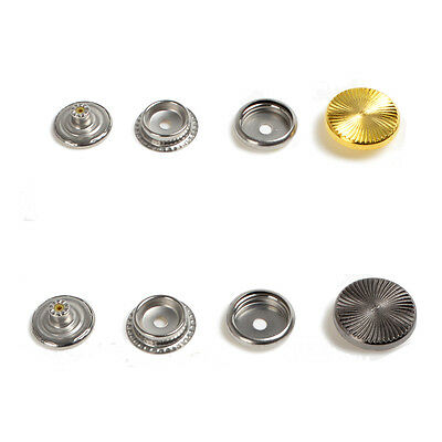 25mm 8 Sets Metal Snap Fasteners with Screw Press Stud For Car Mat Leather Craft
