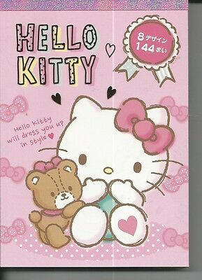 Sanrio Hello Kitty Notepad Extra Thick Pink Bear