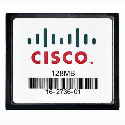 128MB CISCO CompactFlash CF Memony Karte ORIGINAL SLC Industriequalität