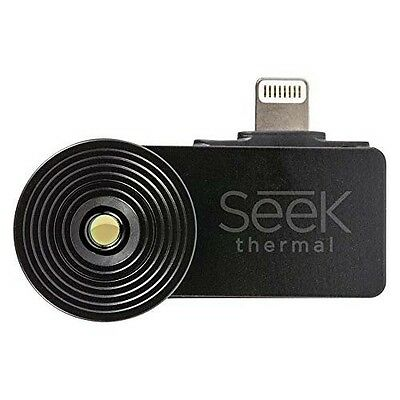 Extended Range Version Seek Thermal Imaging XR Camera iOS IPhone Adjustable