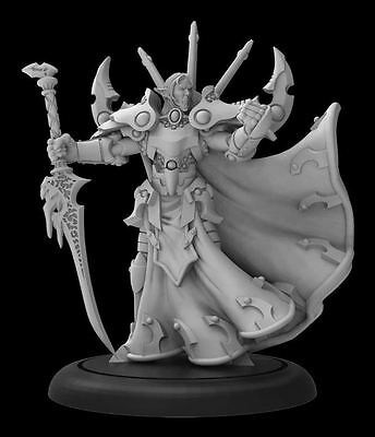 Warmachine Retribution Lord Gyrrshyld, the Forgiven Warcaster PIP35087 PreOrder