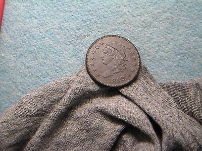 1810 Large Cent!! XF++ Detail! (17) Could have been $2500 coin!