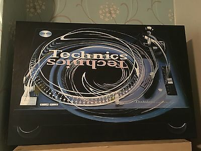 Technics 1210 Canvas Oil Painting