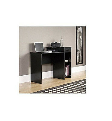 Bundle Mainstays Student Desk and Office Chair, Solid Print, Height Adjustable