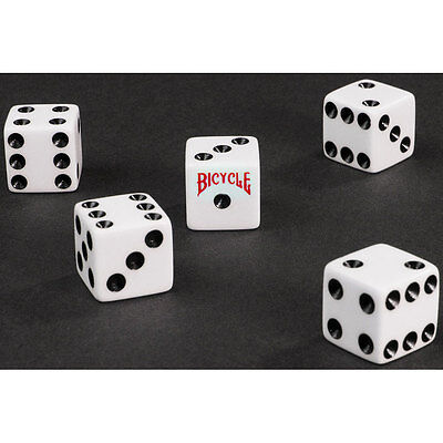 "Bicycle Dice 5/8"" -25/Pack game,card, kids, game table"