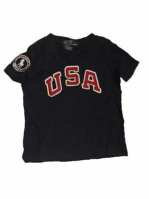Ralph Lauren Polo Girl Boy Baby 18 Months Top T-shirt Olympic Team 2012 NW AUTH