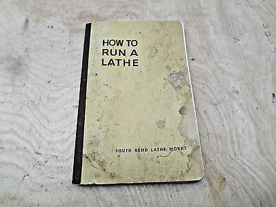 How To Run A Lathe South Bend 1949