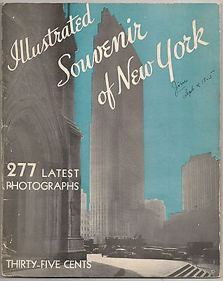 Illustrated Souvenir of New York City Booklet 1935
