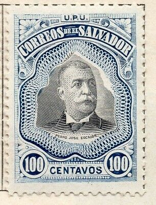 Salvador 1906 Issue Fine Mint Hinged 100c. 141488