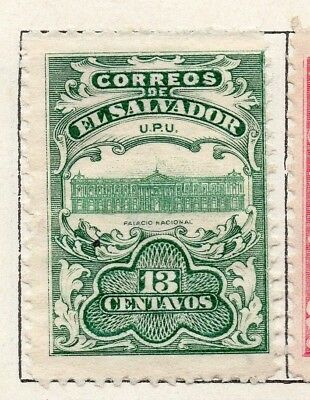Salvador 1907 Issue Fine Mint Hinged 13c. 141493