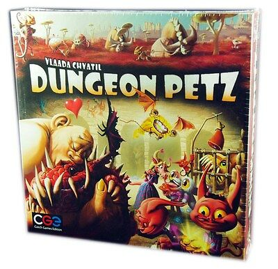 Czech Games Edition, Dungeon Petz Board Game, New and Sealed