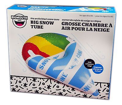 Big Mouth Toys, Big Snow Tube, The Sow Cone Tube 4 feet Across