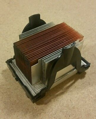 Intel heatsink and fan combo for SE7505VB2 server motherboard. Copper fins