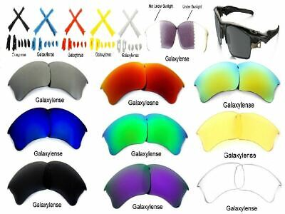 Replacement Lenses For Oakley Flak Jacket XLJ MultiColor Polarize By Galaxylense