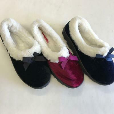 62473 Soft Furry Fluff Warm Winter Comfy Women Girl Lady Comfortable House Shoes