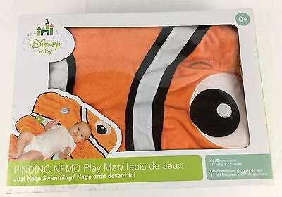 Disney Baby Finding Nemo Play Mat Machine Washable 31 X 23