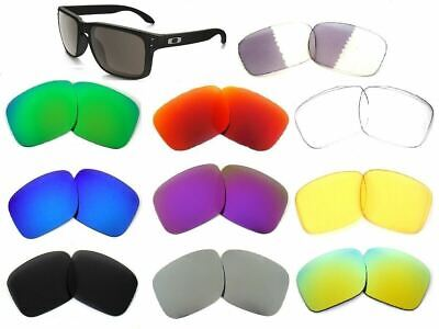 Replacement Lenses For Oakley Holbrook Multi-Color Polarized By Galaxylense