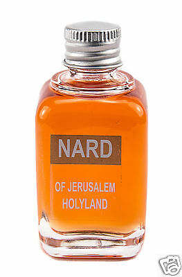 Concentrated Bottle Nard of Jerusalem Oil Best Scents Made in Holy Land 45ml