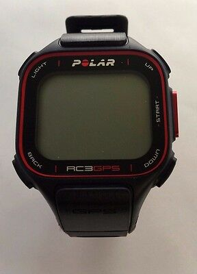 Polar RC3 GPS Heart Rate Monitor Sports Watch Black