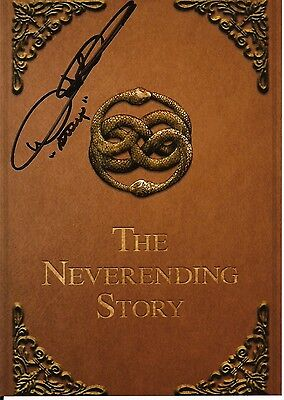NOAH HATHAWAY The NEVERENDING Story Original Hand Signed Autograph 7x5 Photo 1