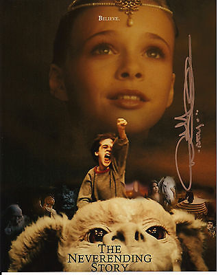 NOAH HATHAWAY The NEVERENDING Story Original Hand Signed Autograph 8x10 Photo 2