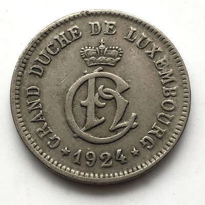 1924 Luxembourg 10 Centimes  #N60