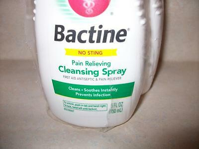 2 Pack Bactine No Sting Pain Relieving Cleansing Spay 5 oz PER Sealed