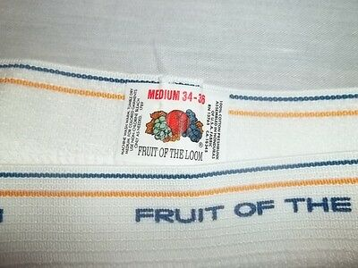 Vtg FRUIT OF THE LOOM UNDERWEAR BRIEFS Size Medium 34-36