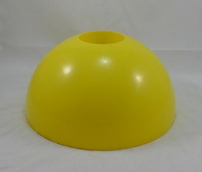 Vintage 1960s yellow plastic lamp shade lampshade dome shaped retro vintage 1960s yellow plastic lamp shade lampshade dome shaped retro modern look aloadofball Gallery