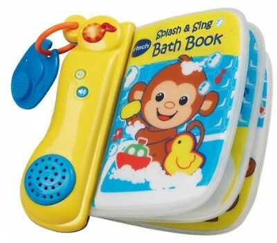 VTech Baby Splash And Sing Bath Book - Multi-Coloured