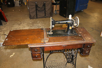 Antique Singer Sewing Machine with Table -For Local Pickup Only