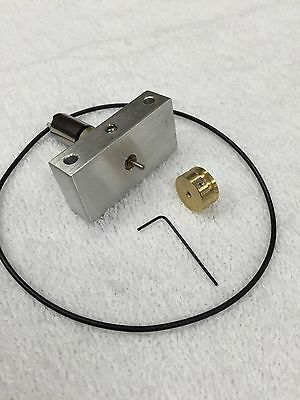 FAULHABER MINIMOTOR WITH BRASS PULLEY  SWISS MADE 12mm GEAR MOTOR 104.4:1 RATIO