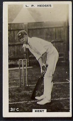 PHILLIPS-CRICKET ERS BROWN BACK F192-#031c- KENT - HEDGES