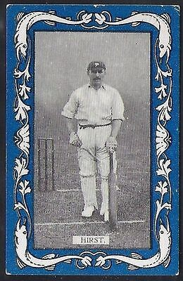 Wills-Australian/english Cricket-Blue Border Vice Regal-#09- Hirst