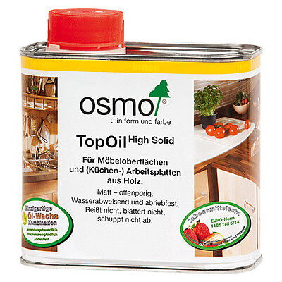 Osmo Topoil  500ml farblos matt 3058 / natural 3068 / Akazie 3061