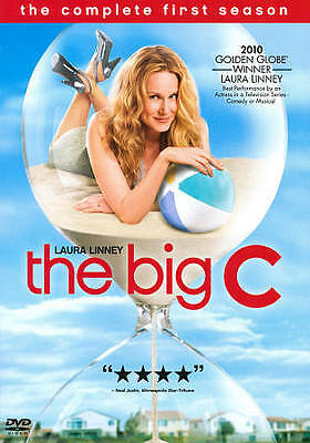 RARE- Big C: The Complete First Season (DVD,3-Disc Set) LAURA LINNEY- NEW