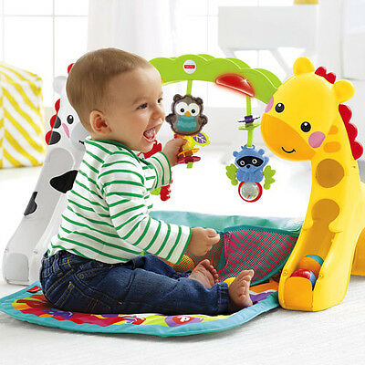 Fisher-Price Musical Baby Newborn-to-Toddler Play Floor Toy Activity Fun Gym Mat