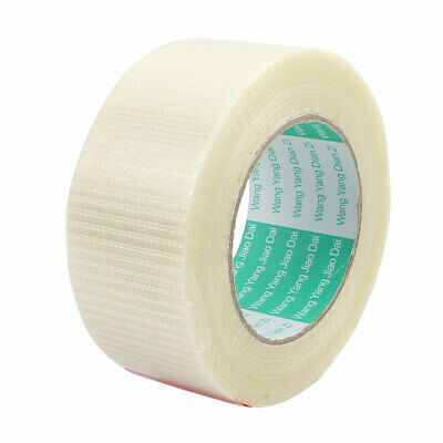 50mm Width Insulating Fiber Glass Tape Adhesive 50 Meters Length for RC Airplane