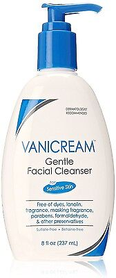 Vanicream Gentle Facial Cleanser with Pump Dispenser 8 oz