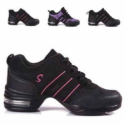 Women Low Profile Jazz Sneakers Ideal Hip Hop Jazz Dance Sport Hiking Trainers