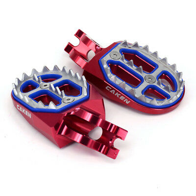 Wide Foot Pegs Rest Pedal For Honda CR125 CR250 CRF250R CRF450R CRF250X CRF450X