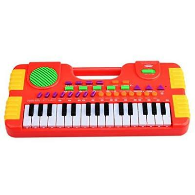 Piano For Kids, Wolfbush 31 Key Synthesizer Multi-Function Electronic Keyboard